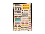 Planche stickers - Multi logos - Kit A - FLU DESIGNS