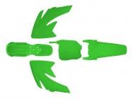 Kit plastique - Type CRF70 - Vert