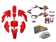 Pack déco GUNSHOT 2013 - CRF50 - Rouge