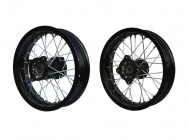 "Pack jantes 12"" - 15mm - Alu - Supermotard"