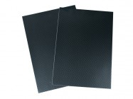 Planche adhésive - Look Carbone - BLACKBIRD