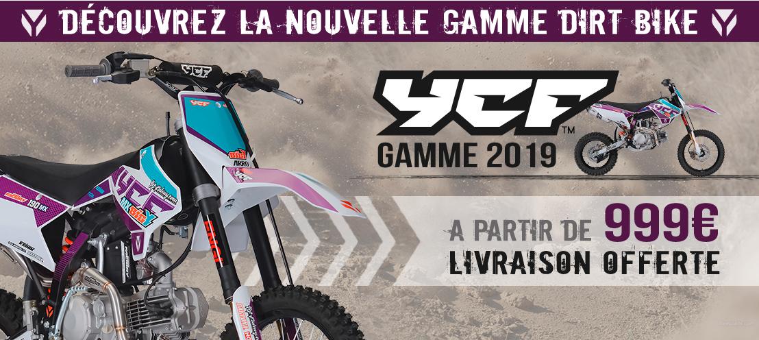 Gamme Moto Dirt Bike YCF 2019